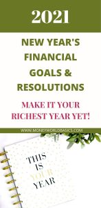Financial Goals & Resolutions