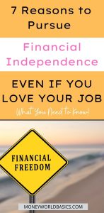 7 Reasons to Pursue Financial Independence